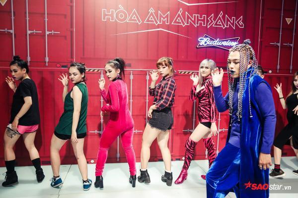Team Thiều Bảo Trâm bất ngờ thay đổi âm nhạc, vũ đạo trước giờ lên sàn đấu Remix New Generation - ảnh 12