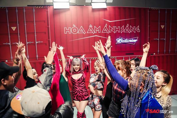 Team Thiều Bảo Trâm bất ngờ thay đổi âm nhạc, vũ đạo trước giờ lên sàn đấu Remix New Generation - ảnh 14