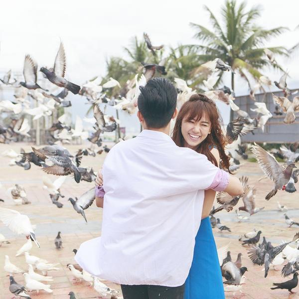 Một số hình ảnh nhá hàng cực tình tứ của Trấn Thành - Hari Won trong MV