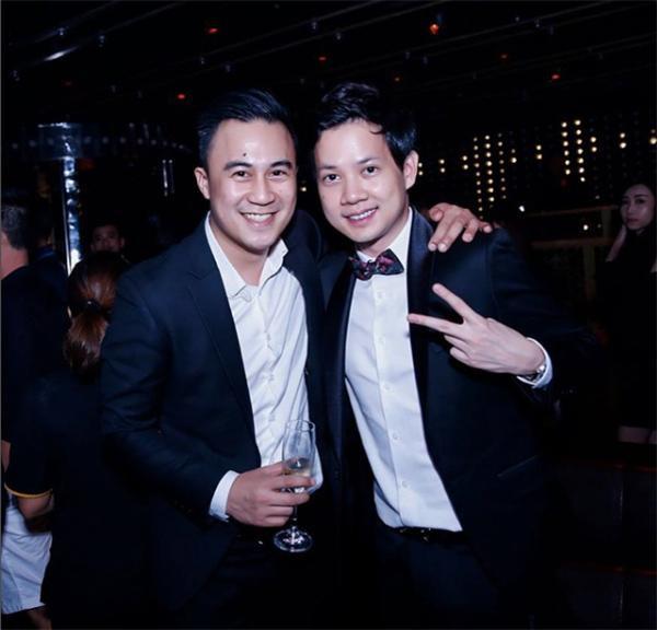 Justin Chiêm còn thân thiết với bạn trai Hoa hậu Thu Thảo.