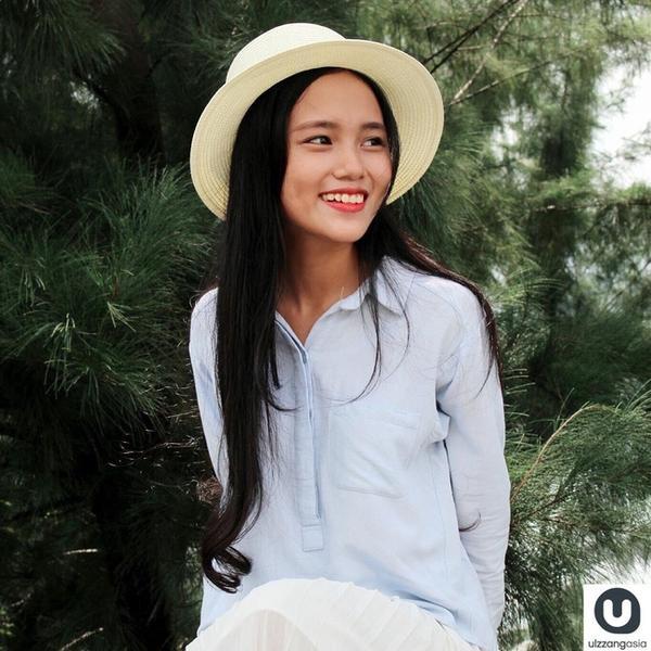 Nữ sinh Bách khoa bất ngờ xuất hiện trên trang mạng Ulzzang Hàn Quốc
