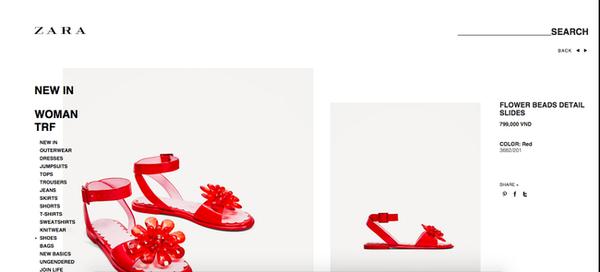 Cứ tưởng 'dép lau nhà' đã xấu, ai ngờ Zara còn có dép nhựa đỏ xấu hơn!