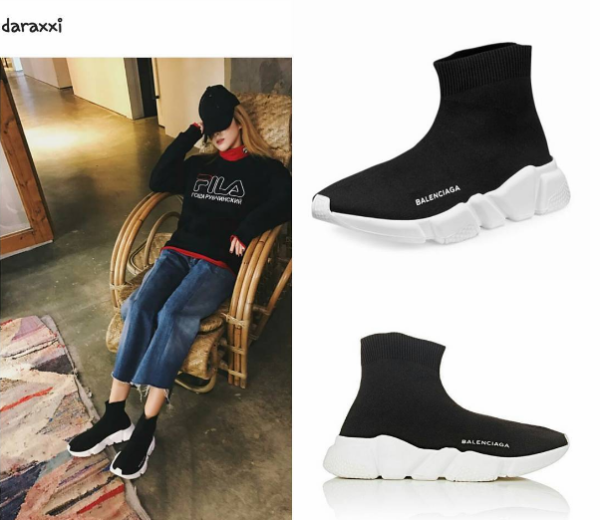 Giống G-Dragon, Kelbin Lei đã nhanh tay tậu 'siêu phẩm' Balenciaga Speed Sneakers!