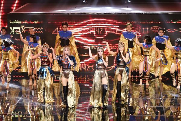Lip B hóa thành 'công chúa Ai Cập' đối đầu cùng 'kẻ mơ mộng' S.T tại Remix New Generation