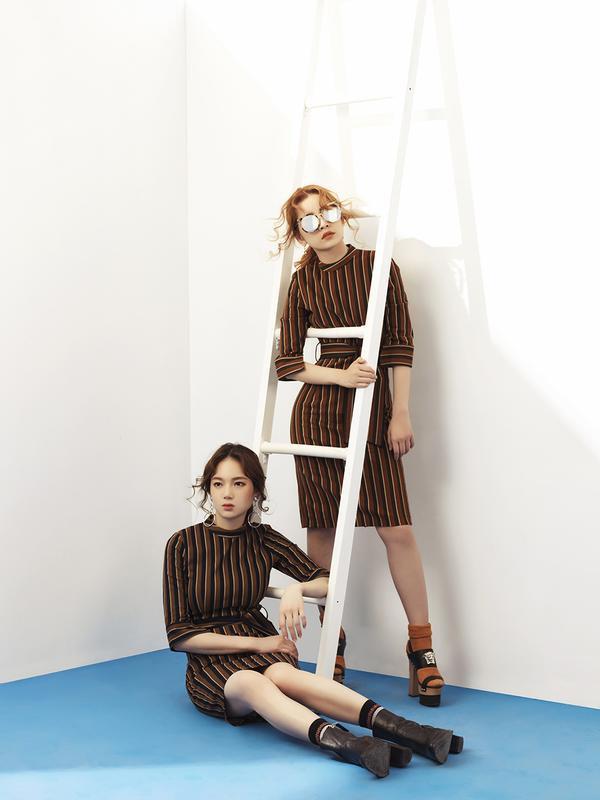 Chi Pu 'chất lừ' trong bộ sưu tập thời trang tự sản xuất