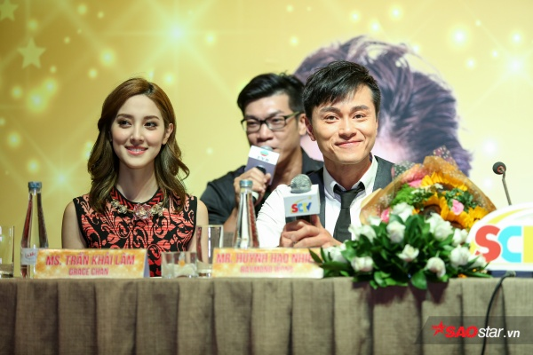 Sao TVB Huỳnh Hạo Nhiên - Trần Khải Lâm tiết lộ 'yêu nhau như thật' trên phim trường