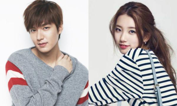 Suzy - Lee Min Ho  Suzy và Lee Min Ho là một trong những cặp đôi nổi tiếng nhất showbiz Hàn hiện nay. Cả hai xác nhận chuyện yêu đương từ tháng 3/2015. Thời điểm đó, trang tin Dispatch bất ngờ đăng tải hình ảnh hai người có những lần hẹn hò trong nước và cả nước ngoài.
