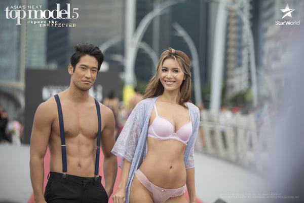 Minh Tú được nhận định là thí sinh sở hữu body đẹp nhất trong top thí sinh tham dự Asia's next top model 2017.