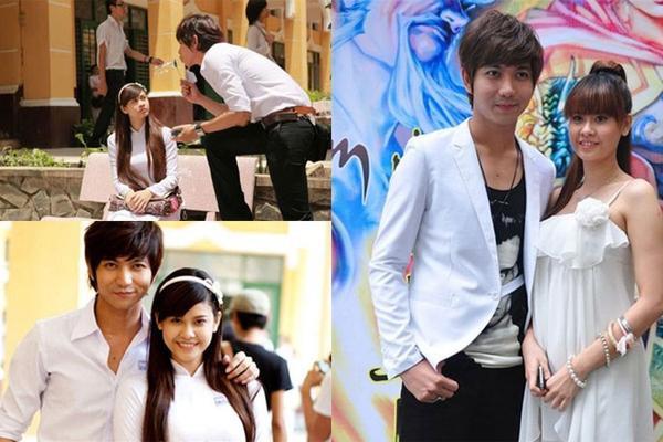 Cặp đôi quen nhau khi cùng đóng phim Bóng ma học đường hồi năm 2010.