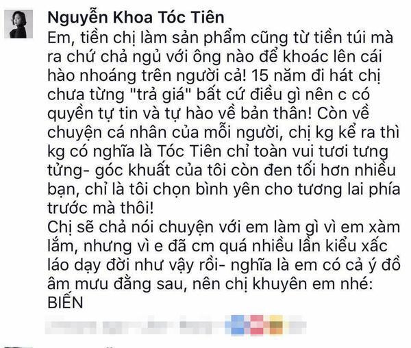 Đây là cách Tóc Tiên đáp trả 'đanh đá' với anti-fan