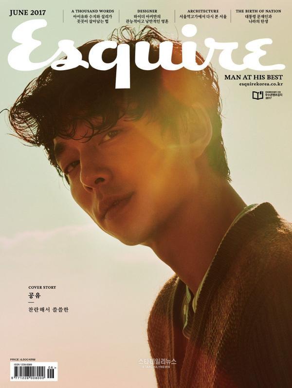 Gong Yoo tạo kỷ lục khi xuất hiện trên bìa tạp chí nhiều nước châu Á - ảnh 3
