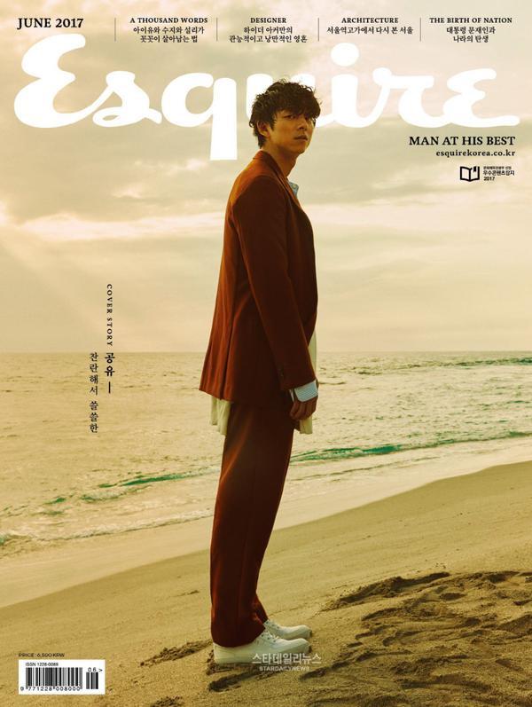 Gong Yoo tạo kỷ lục khi xuất hiện trên bìa tạp chí nhiều nước châu Á - ảnh 4