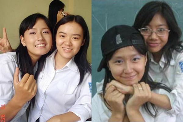 """Khác hẳn vẻ quyến rũ bây giờ, Hoa hậu Mai Phương Thúy ngày xưa lại """"nghịch"""" không thua kém con trai."""