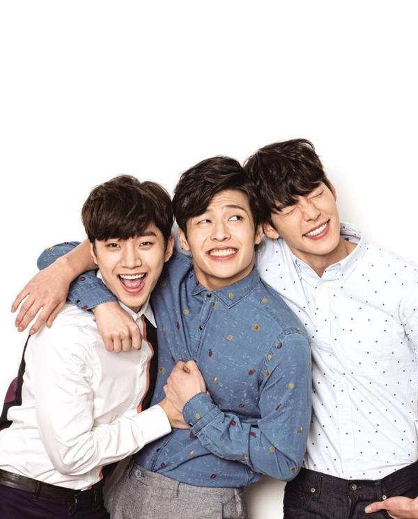 Kim Woo Bin và những người bạn thân 'hiếm có khó tìm'