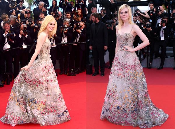'Đột nhập' xưởng may Dior, cùng xem bộ váy hoa của Elle Fanning được làm ra như thế nào!