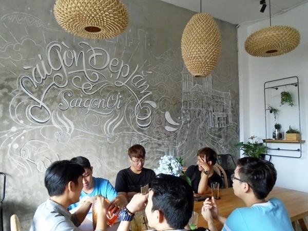 Đây là điểm hẹn cuối tuần của các bạn trẻ Sài Thành.