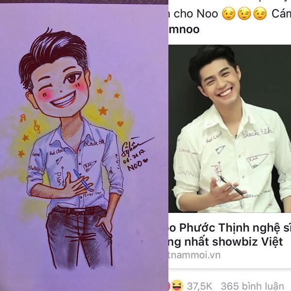 Loạt ảnh chibi dễ thương 'muốn xỉu' của sao Việt