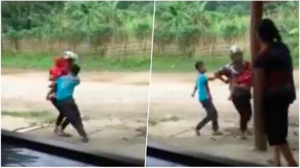 Yên Bái: Phẫn nộ clip cậu bé đòi đánh mẹ vì không được mua điện thoại Iphone