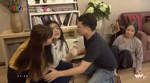 Điên dại vì mất con, Trang (Thu Quỳnh) suýt chút nữa thì đánh cả mẹ chồng