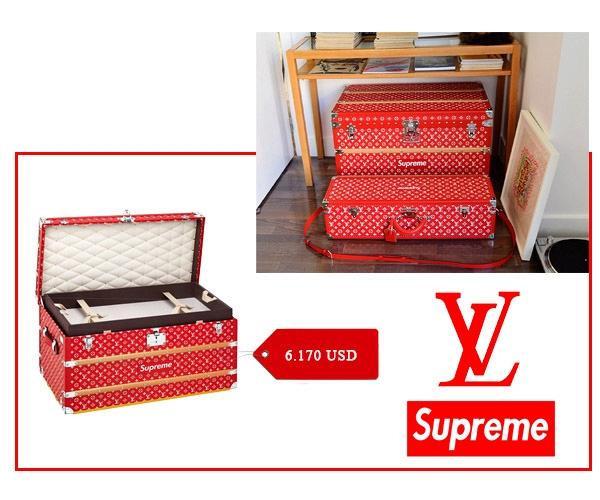 Ra mắt chưa lâu, 'siêu phẩm' Louis Vuitton x Supreme đã bị nhái không thương tiếc!