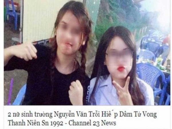Pháp luật: Bịa tin nữ sinh 'hiếp dâm chết người', xử sao?