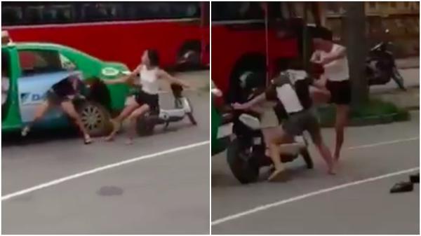 Mặc nữ sinh van xin kêu cứu khi bị đánh, nam tài xế taxi Mai Linh vẫn lên xe bỏ đi