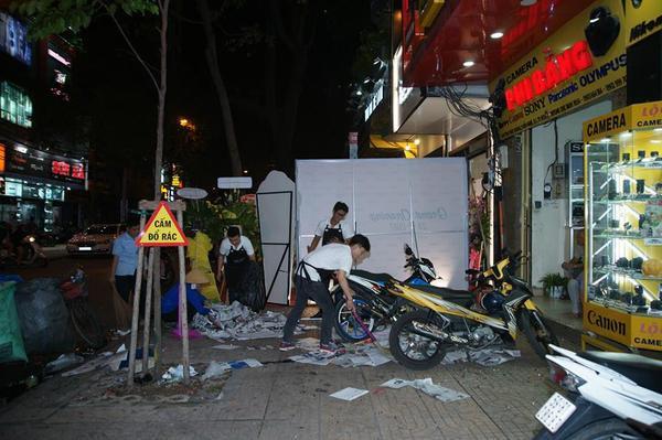 Vừa khai trương quán trà sữa, Phạm Hương hết bị tạt sơn lại ném mắm tôm - Ảnh 4