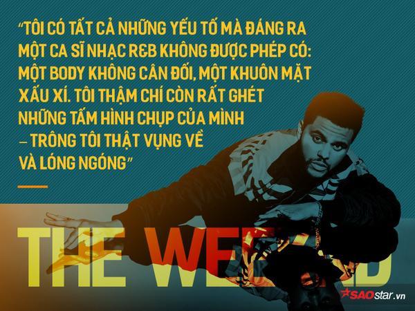 The Weeknd - Chàng Trai Sở Hữu Giọng Hát Ngọt Ngào Với Mái Tóc Rối Bù