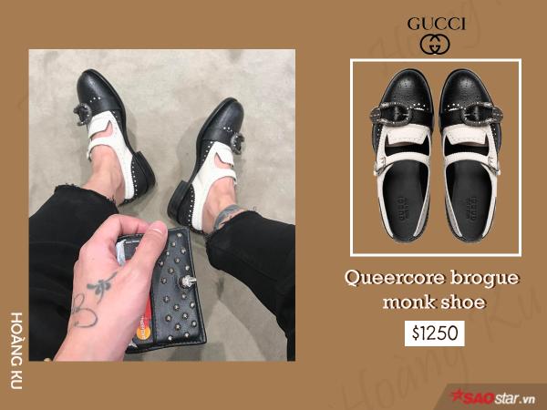 Giày hiệu Hoàng Ku không thiếu, nhưng chỉ Gucci mới khiến anh đổ tiền mạnh đến vậy - ảnh 1
