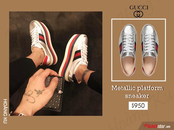 Giày hiệu Hoàng Ku không thiếu, nhưng chỉ Gucci mới khiến anh đổ tiền mạnh đến vậy - ảnh 2