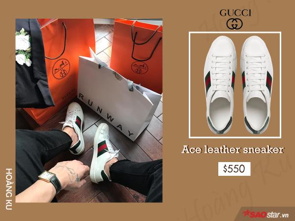 Giày hiệu Hoàng Ku không thiếu, nhưng chỉ Gucci mới khiến anh đổ tiền mạnh đến vậy - ảnh 4