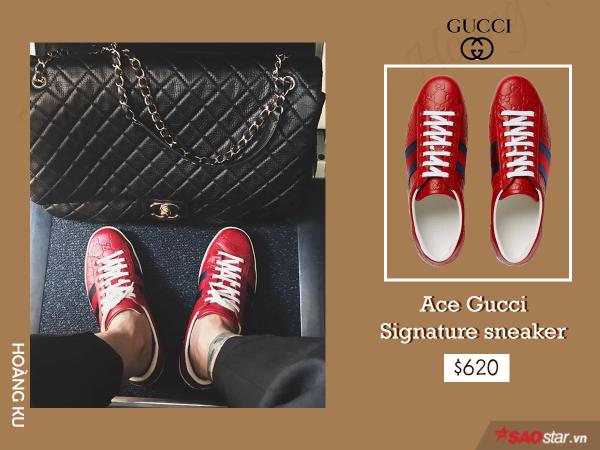 Giày hiệu Hoàng Ku không thiếu, nhưng chỉ Gucci mới khiến anh đổ tiền mạnh đến vậy - ảnh 5