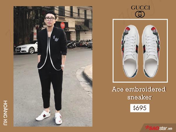 Giày hiệu Hoàng Ku không thiếu, nhưng chỉ Gucci mới khiến anh đổ tiền mạnh đến vậy - ảnh 9