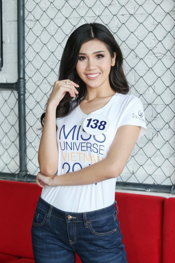 Không ngoài kỳ vọng, 'thánh ca dao' Hoàng Thùy giành vé vào bán kết Hoa hậu Hoàn vũ Việt Nam 2017. - ảnh 6