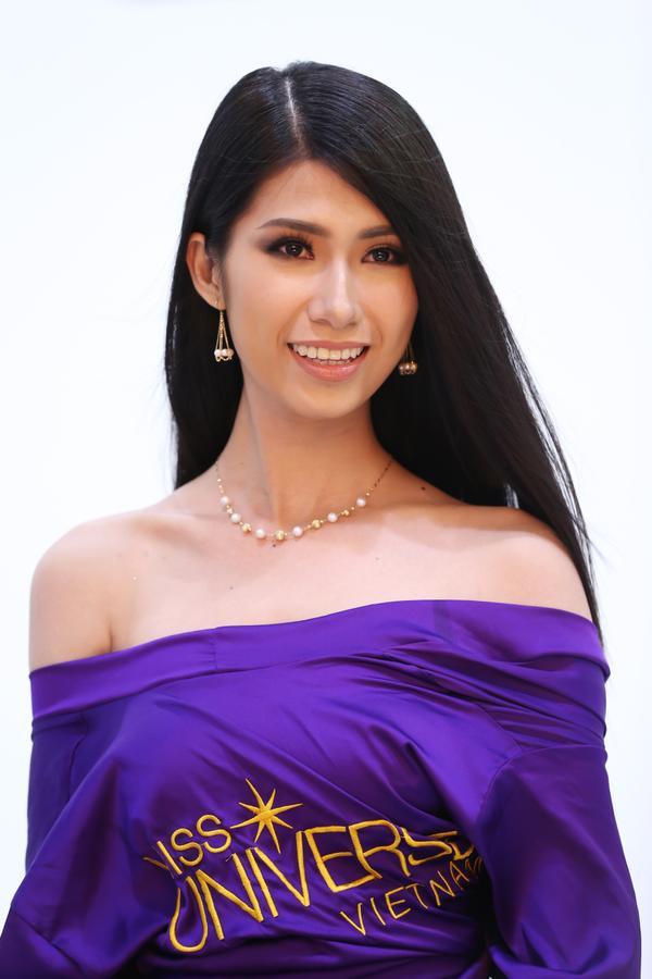 Không ngoài kỳ vọng, 'thánh ca dao' Hoàng Thùy giành vé vào bán kết Hoa hậu Hoàn vũ Việt Nam 2017. - ảnh 11