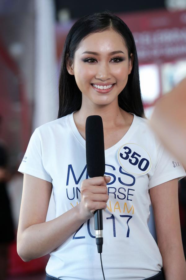 Không ngoài kỳ vọng, 'thánh ca dao' Hoàng Thùy giành vé vào bán kết Hoa hậu Hoàn vũ Việt Nam 2017. - ảnh 14