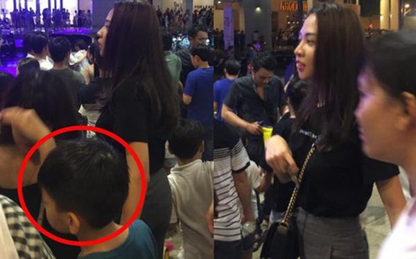 Đàm Thu Trang bị bắt gặp dắt Subeo đi chơi Trung thu ở Sài Gòn
