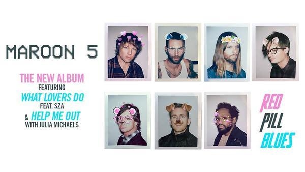 Sẵn sàng cho ngày trở lại, Maroon 5 tung ca khúc về chủ đề tình yêu