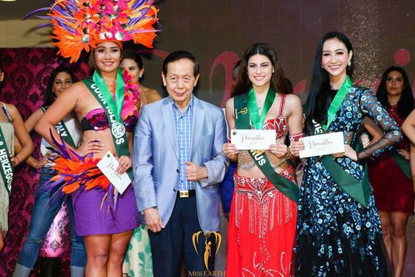 Kém sắc hơn Đặng Thu Thảo khi mặc chung váy, Hà Thu vẫn giành giải đồng thi tài năng - ảnh 3