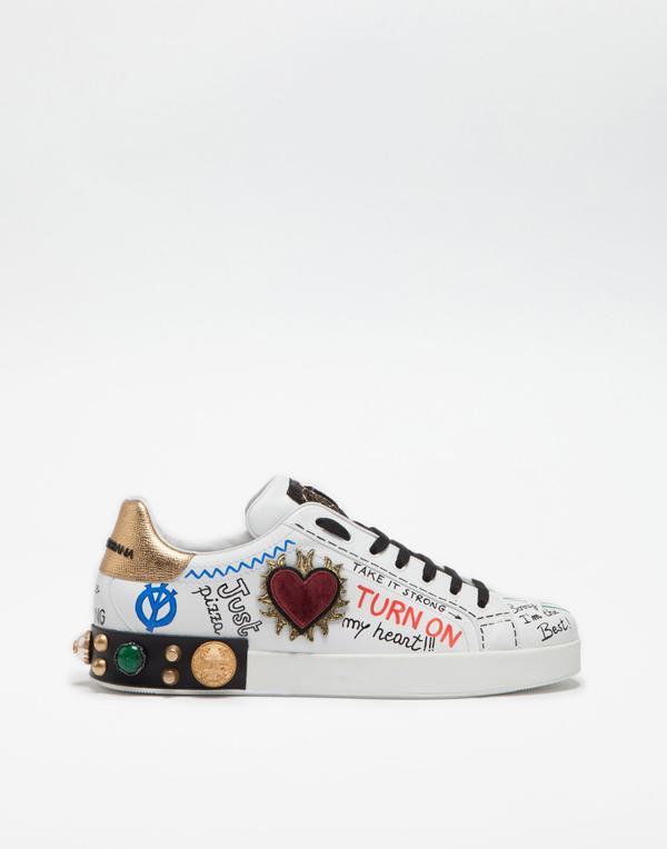 cs1539ah029 8i049 0 - 'Cảnh báo' tín đồ street-wear! Sneaker siêu xinh của Dolce & Gabbana sẽ 'hạ cánh' tại Hà Nội