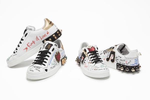 dolce gabbana sneakers fw17 18 gruppo 1 - 'Cảnh báo' tín đồ street-wear! Sneaker siêu xinh của Dolce & Gabbana sẽ 'hạ cánh' tại Hà Nội