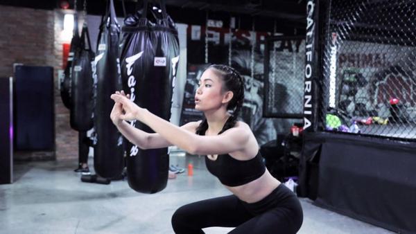 Mâu Thuỷ tích cực giảm cân, khoe hình thể nóng bỏng trước thềm chung kết HHHV Việt Nam - ảnh 4