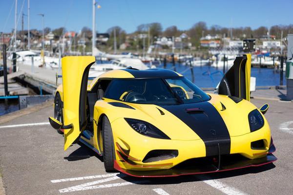 Top 5 siêu xe tốc độ khủng nhất hiện nay