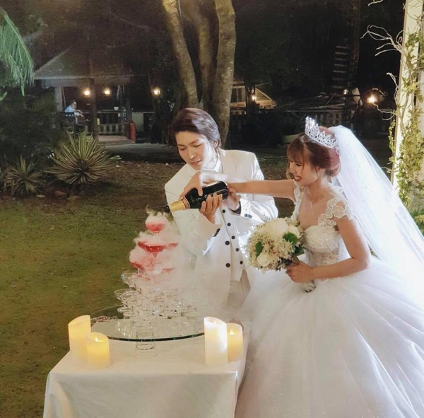 Khởi My hóa công chúa khi diện váy cưới hoành tráng - Ảnh 8.