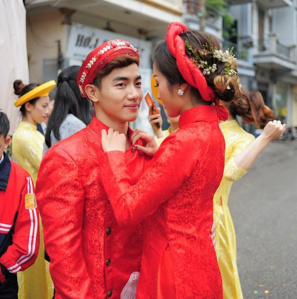 Nam thần thể dục dụng cụ Phước Hưng cưới vợ - Ảnh 10.