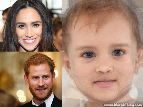 Hoàng tử Harry còn chưa kết hôn, dân mạng đã đua nhau 'phán' diện mạo tiểu công chúa, tiểu hoàng tử