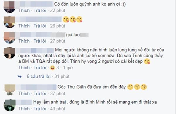 Bình Minh - Trương Quỳnh Anh bị cư dân mạng ném đá trên Facebook, vì bị lộ ảnh tình tứ bỏ mặc gia đình