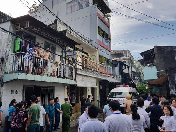 Hỏa hoạn ở Sài Gòn: 3 mẹ con chết cháy thương tâm