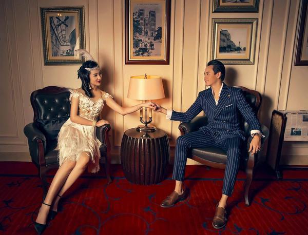 Ngắm bộ ảnh cưới cổ điển chất lừ của người đẹp Nha Trang - Phương Tiểu Bình bên chồng sắp c - ảnh 8