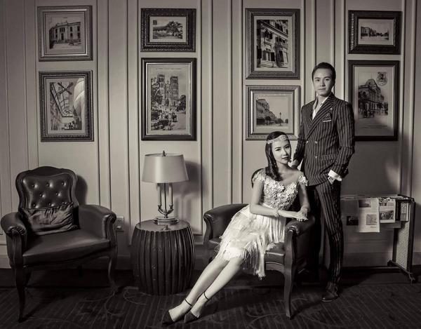 Ngắm bộ ảnh cưới cổ điển chất lừ của người đẹp Nha Trang - Phương Tiểu Bình bên chồng sắp c - ảnh 4